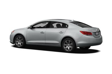 Surround 3/4 Rear - Drivers Side  2011 Buick LaCrosse