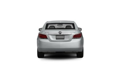 Surround Rear Profile 2011 Buick LaCrosse