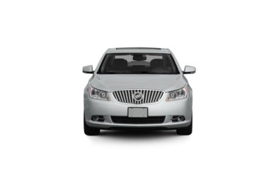 Surround Front Profile  2011 Buick LaCrosse
