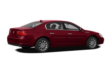 3/4 Rear Glamour  2011 Buick Lucerne