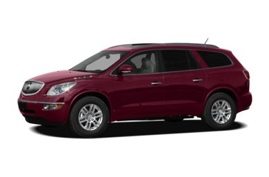 3/4 Front Glamour 2011 Buick Enclave