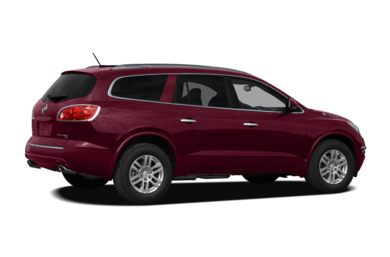 3/4 Rear Glamour  2011 Buick Enclave