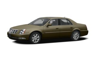 3/4 Front Glamour 2011 Cadillac DTS