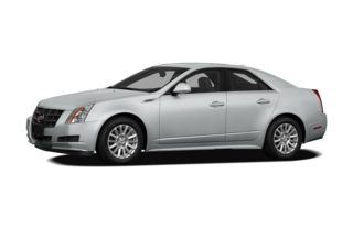 3/4 Front Glamour 2011 Cadillac CTS