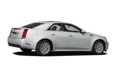 3/4 Rear Glamour  2011 Cadillac CTS
