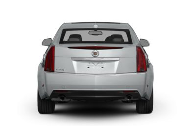 Rear Profile  2011 Cadillac CTS