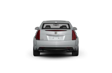 Surround Rear Profile 2011 Cadillac CTS
