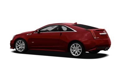 Surround 3/4 Rear - Drivers Side  2011 Cadillac CTS-V