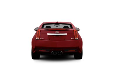 Surround Rear Profile 2011 Cadillac CTS-V
