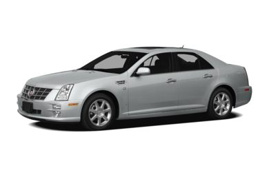 3/4 Front Glamour 2011 Cadillac STS