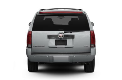 Rear Profile  2011 Cadillac Escalade ESV