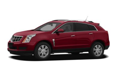 3/4 Front Glamour 2011 Cadillac SRX