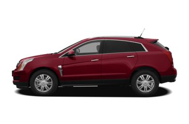 90 Degree Profile 2011 Cadillac SRX