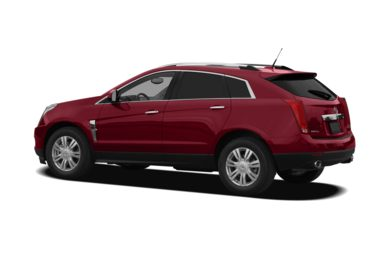 Surround 3/4 Rear - Drivers Side  2011 Cadillac SRX
