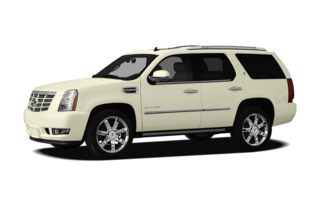3/4 Front Glamour 2011 Cadillac Escalade Hybrid