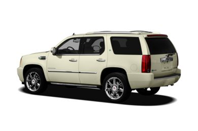 Surround 3/4 Rear - Drivers Side  2011 Cadillac Escalade Hybrid
