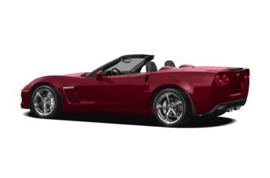 Surround 3/4 Rear - Drivers Side  2011 Chevrolet Corvette
