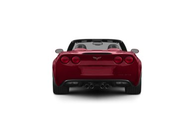 Surround Rear Profile 2011 Chevrolet Corvette