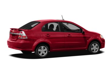 3/4 Rear Glamour  2011 Chevrolet Aveo