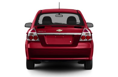 Rear Profile  2011 Chevrolet Aveo