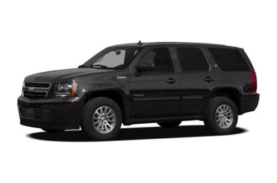 3/4 Front Glamour 2011 Chevrolet Tahoe Hybrid
