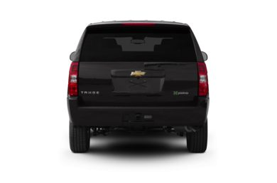 Rear Profile  2011 Chevrolet Tahoe Hybrid