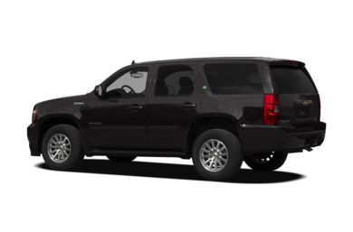 Surround 3/4 Rear - Drivers Side  2011 Chevrolet Tahoe Hybrid