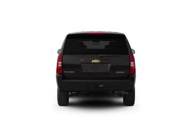 Surround Rear Profile 2011 Chevrolet Tahoe Hybrid