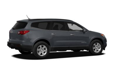 3/4 Rear Glamour  2011 Chevrolet Traverse