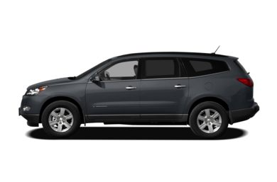 90 Degree Profile 2011 Chevrolet Traverse