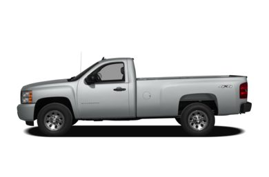 90 Degree Profile 2011 Chevrolet Silverado 1500