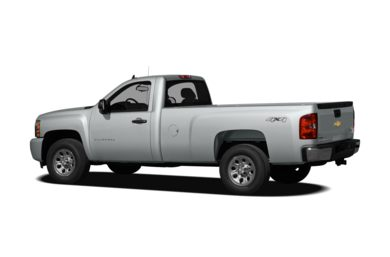 Surround 3/4 Rear - Drivers Side  2011 Chevrolet Silverado 1500