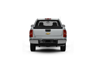 Surround Rear Profile 2011 Chevrolet Silverado 1500