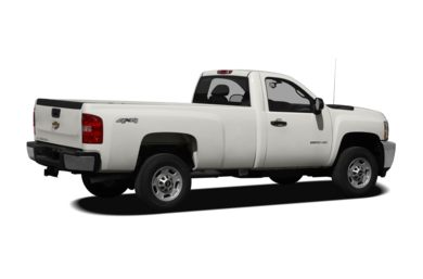 3/4 Rear Glamour  2011 Chevrolet Silverado 2500HD
