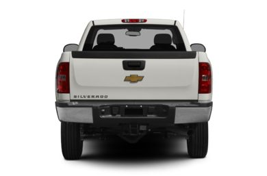 Rear Profile  2011 Chevrolet Silverado 2500HD
