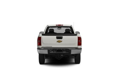 Surround Rear Profile 2011 Chevrolet Silverado 2500HD