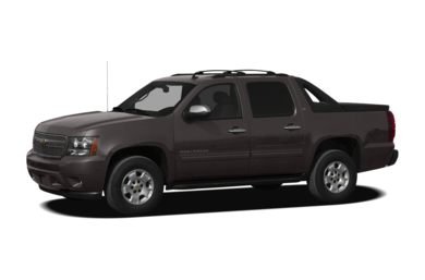 3/4 Front Glamour 2011 Chevrolet Avalanche