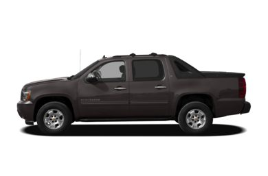 90 Degree Profile 2011 Chevrolet Avalanche