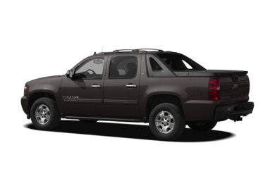 Surround 3/4 Rear - Drivers Side  2011 Chevrolet Avalanche