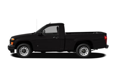 90 Degree Profile 2011 Chevrolet Colorado