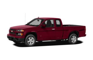 3/4 Front Glamour 2011 Chevrolet Colorado