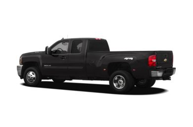 Surround 3/4 Rear - Drivers Side  2011 Chevrolet Silverado 3500HD