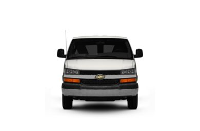 Surround Front Profile  2011 Chevrolet Express 2500