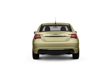Surround Rear Profile 2011 Chrysler 200