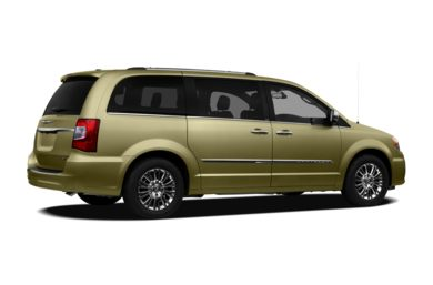 3/4 Rear Glamour  2011 Chrysler Town & Country