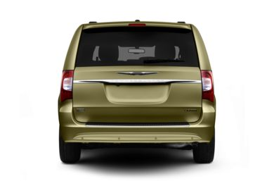 Rear Profile  2011 Chrysler Town & Country