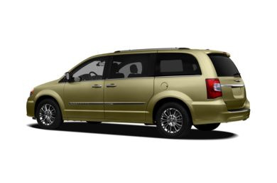 Surround 3/4 Rear - Drivers Side  2011 Chrysler Town & Country