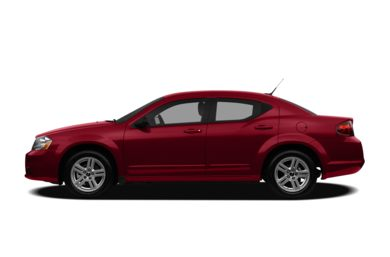 90 Degree Profile 2011 Dodge Avenger