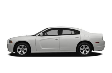 90 Degree Profile 2011 Dodge Charger