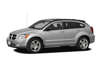3/4 Front Glamour 2011 Dodge Caliber